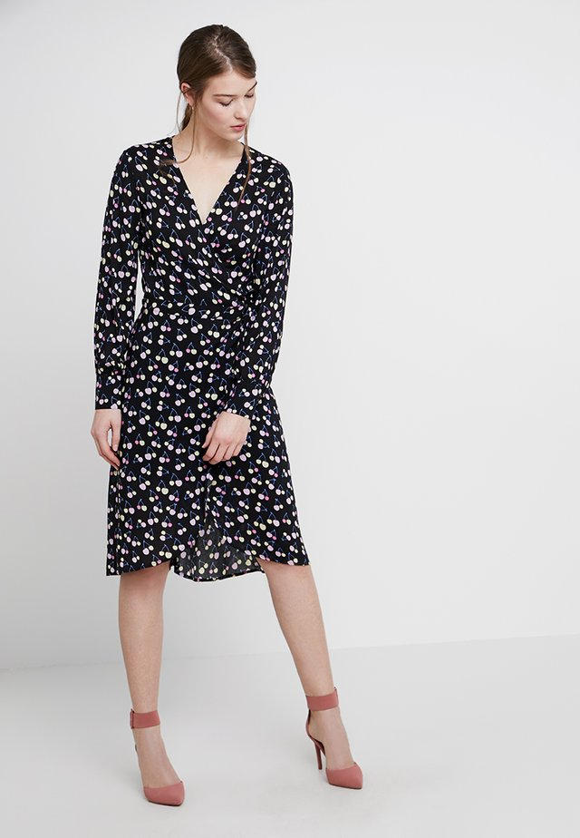 ERICA - Day dress - black combi