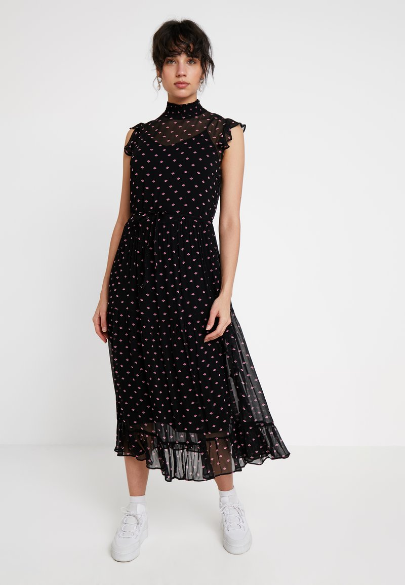Levete Room - Maxi šaty - black combi