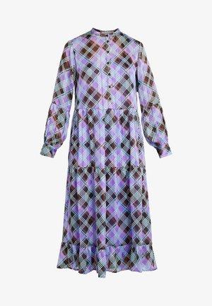 GAMMA - Abito a camicia - dahlia purple combi