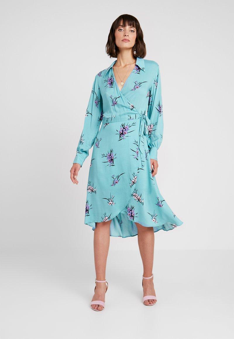 Levete Room - GRITA - Vestido informal - adriatic blue combi