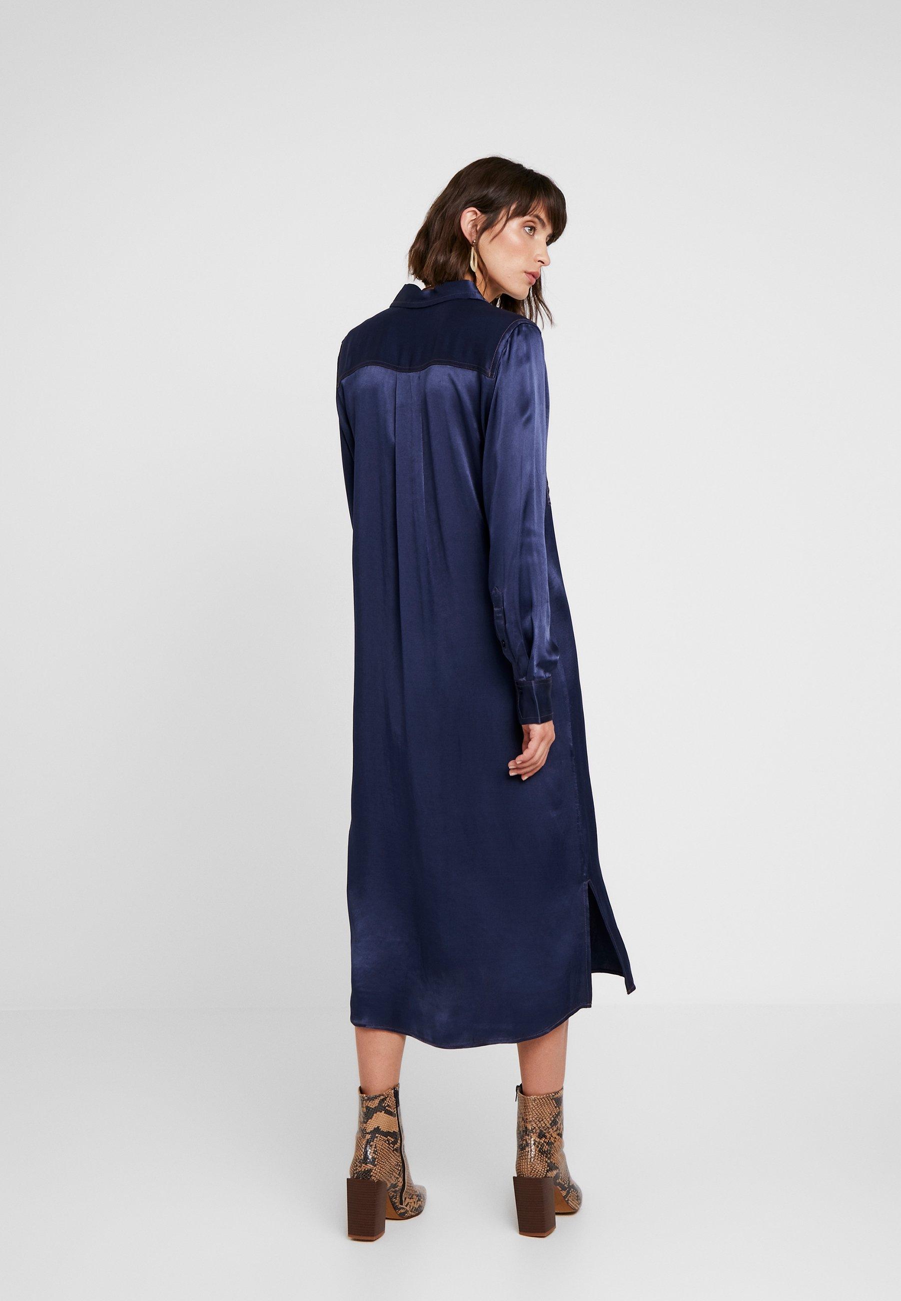 FlorenceAbito Camicia Dress A Levete Room Blues 29YWEIDH