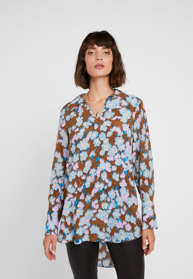 GINA - Button-down blouse - dachshund