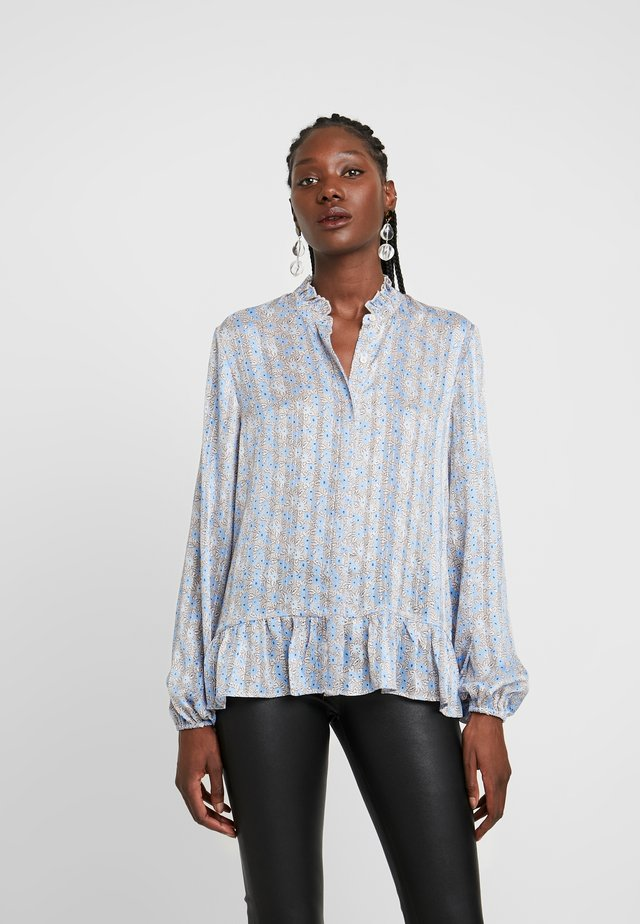HARVEST - Button-down blouse - hushed violet
