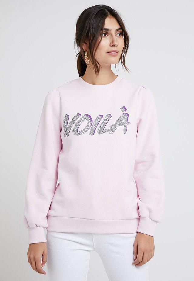 AGNETE - Sweatshirt - lilac snow