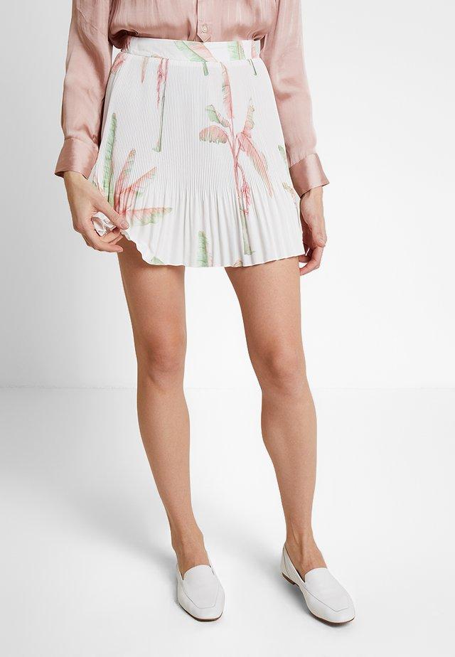 SAIA TECIDO POLY MAROCAIN - A-snit nederdel/ A-formede nederdele - velutina