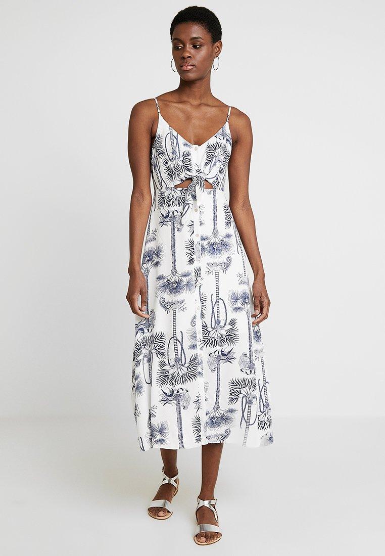 Vestido Tecido Stars   Maxi Dress by Lez A Lez