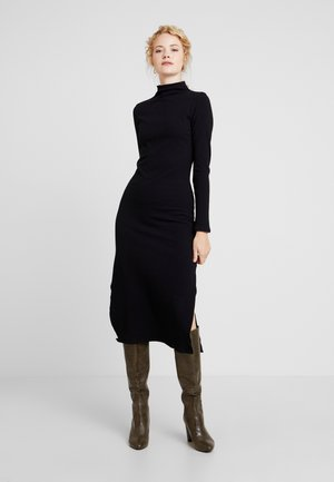 VESTIDO MALHA COSTINE MALAGA - Shift dress - preto