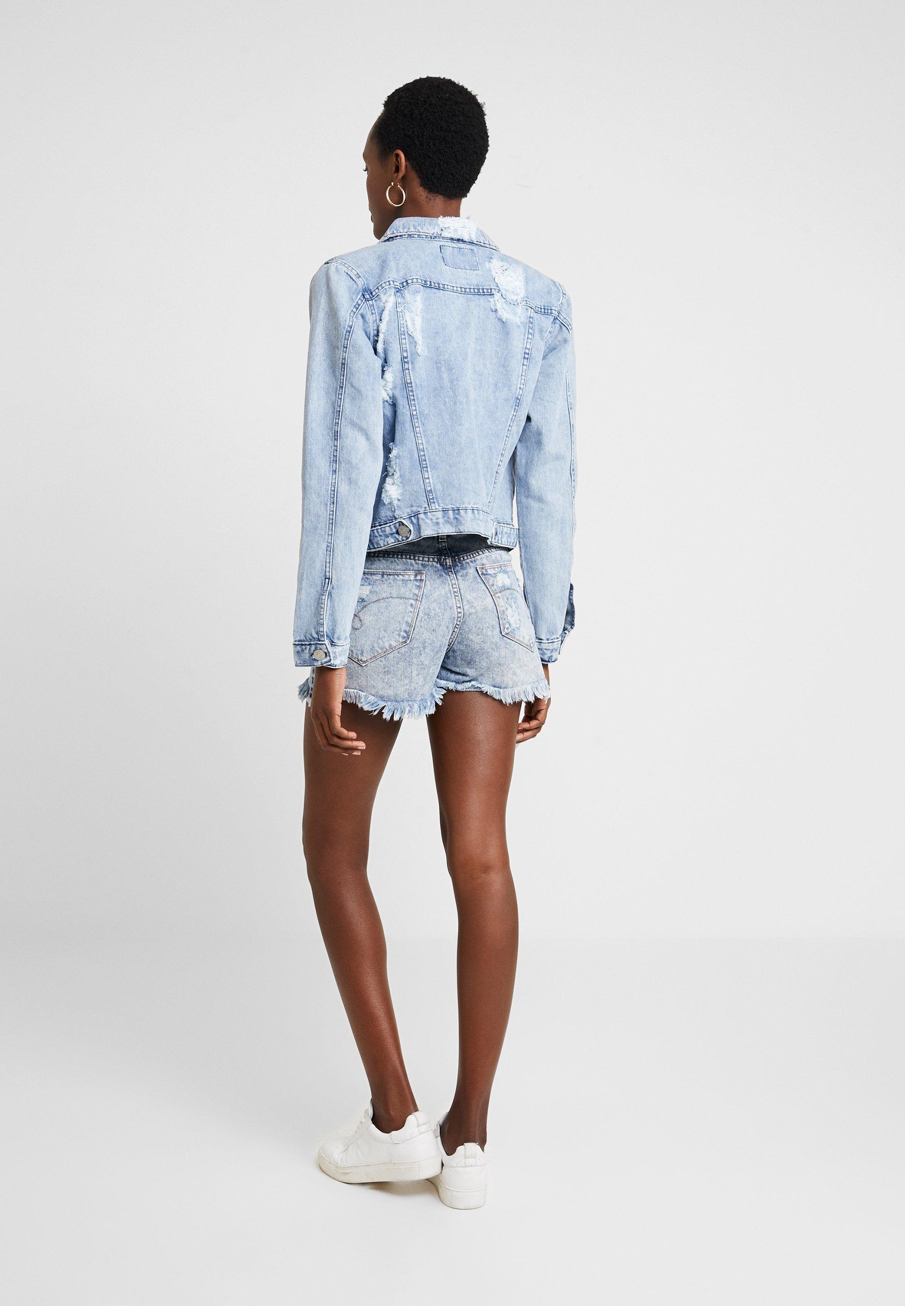 JaquetaGiacca Denim Blue Di A Jeans Lez xoerdCB