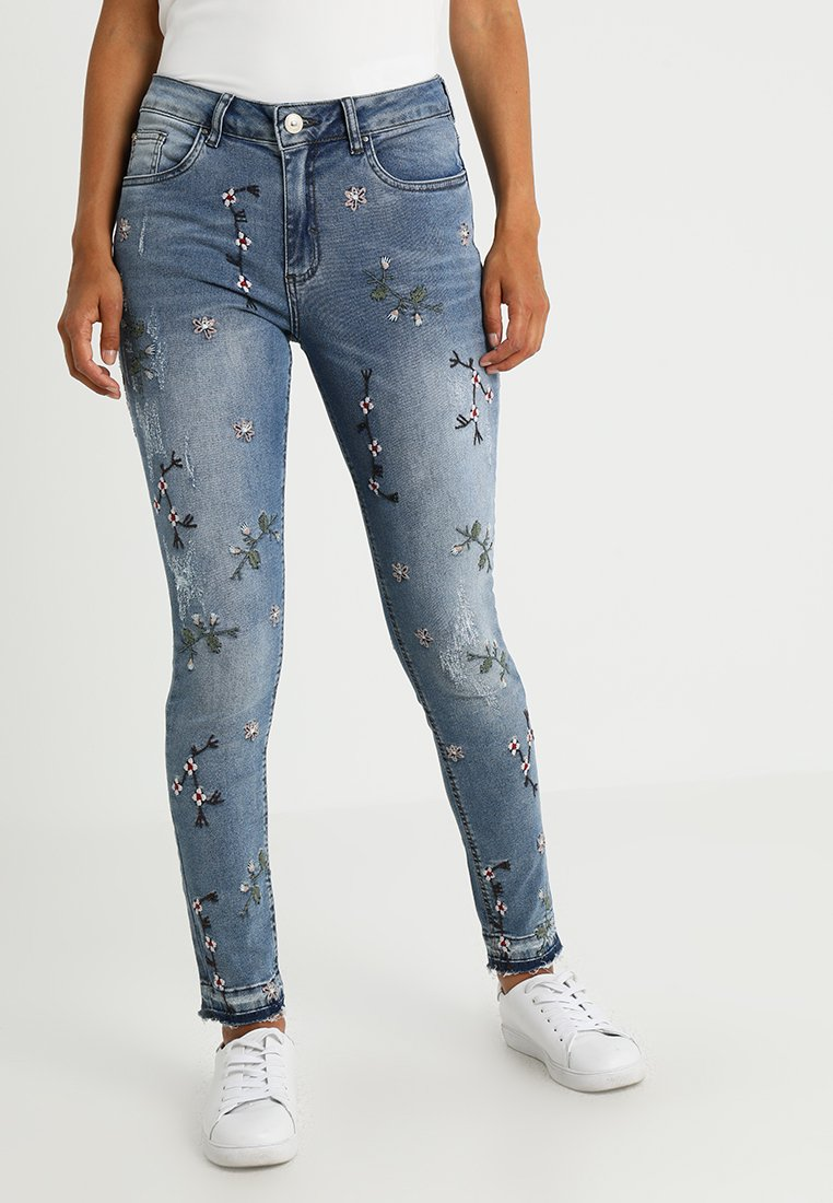 Lez a Lez - Jeans Skinny - blue denim