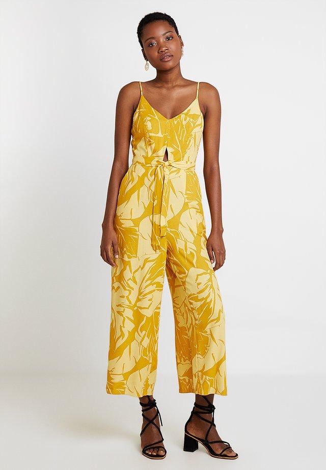 MACACAO TECIDO - Tuta jumpsuit - yellow