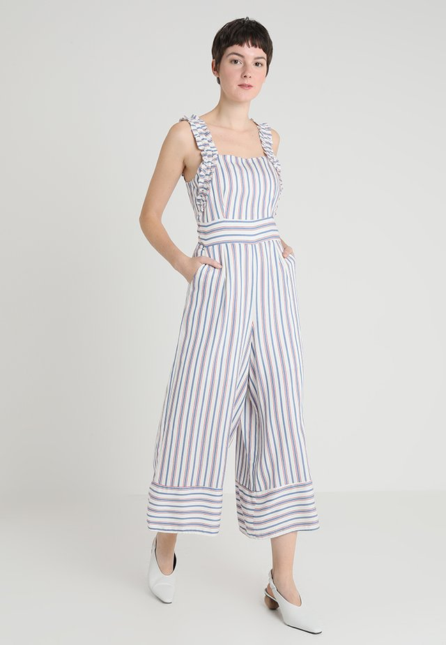 MACACAO MID - Jumpsuit - branco off white