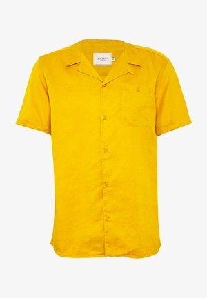 LAURENT - Skjorta - golden spice yellow