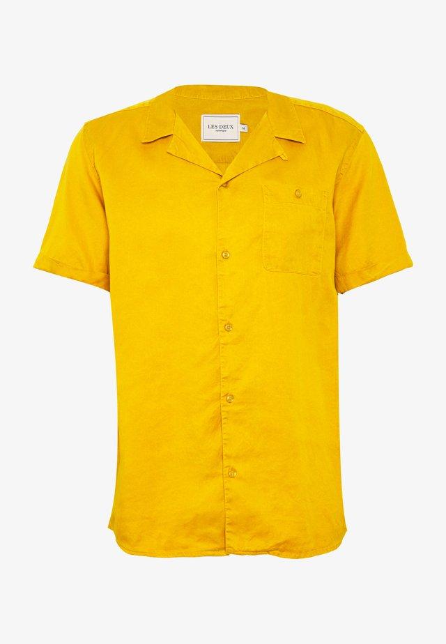 LAURENT - Camicia - golden spice yellow