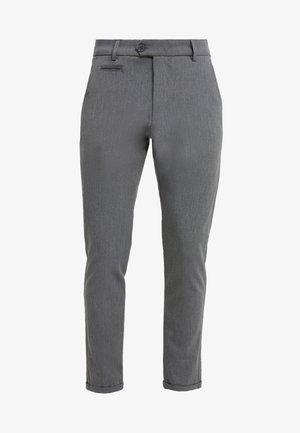 SUIT PANTS COMO - Kalhoty - grey melange