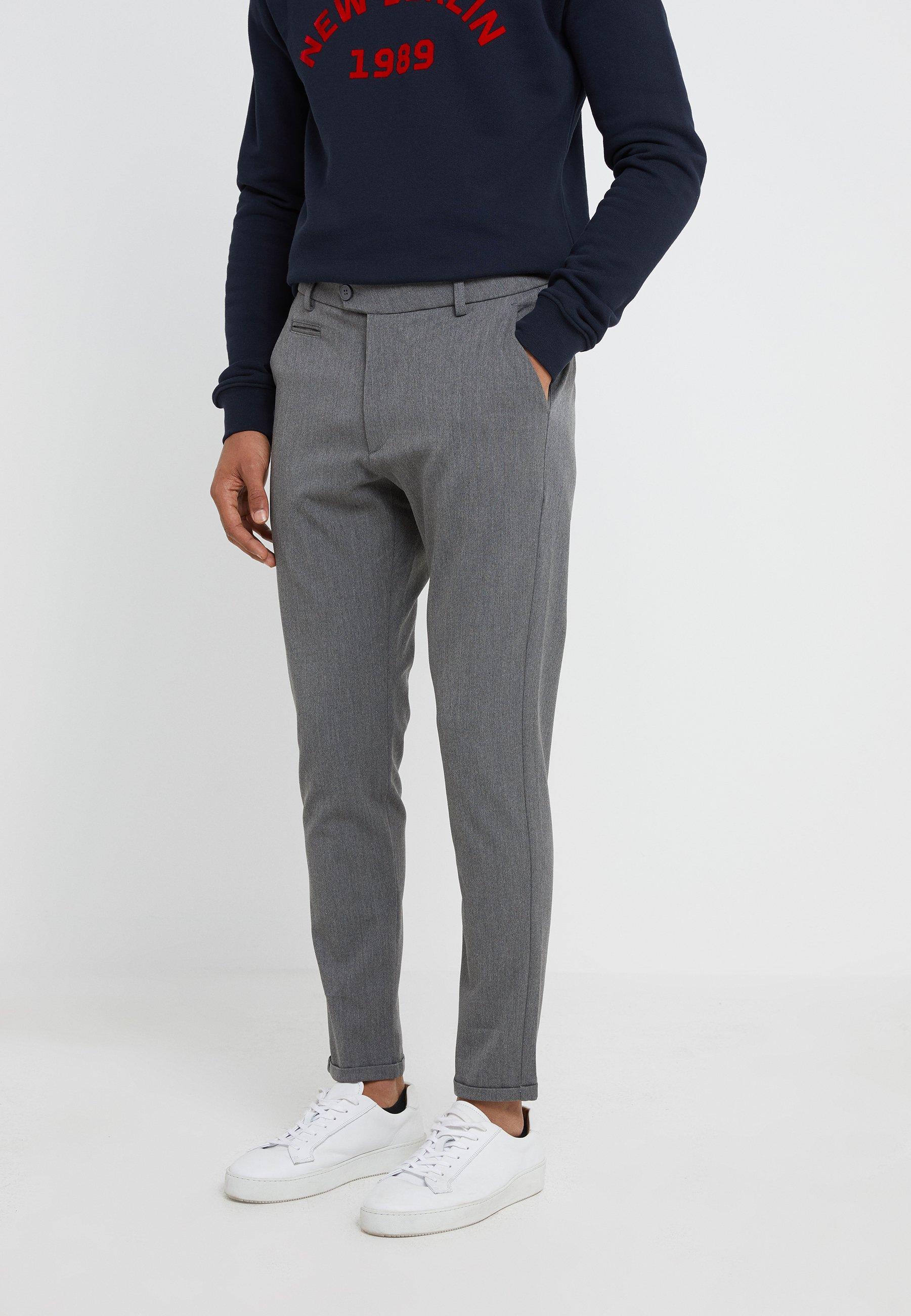 ComoPantalon Les Deux Grey Suit Melange Classique Pants dBxothsQrC