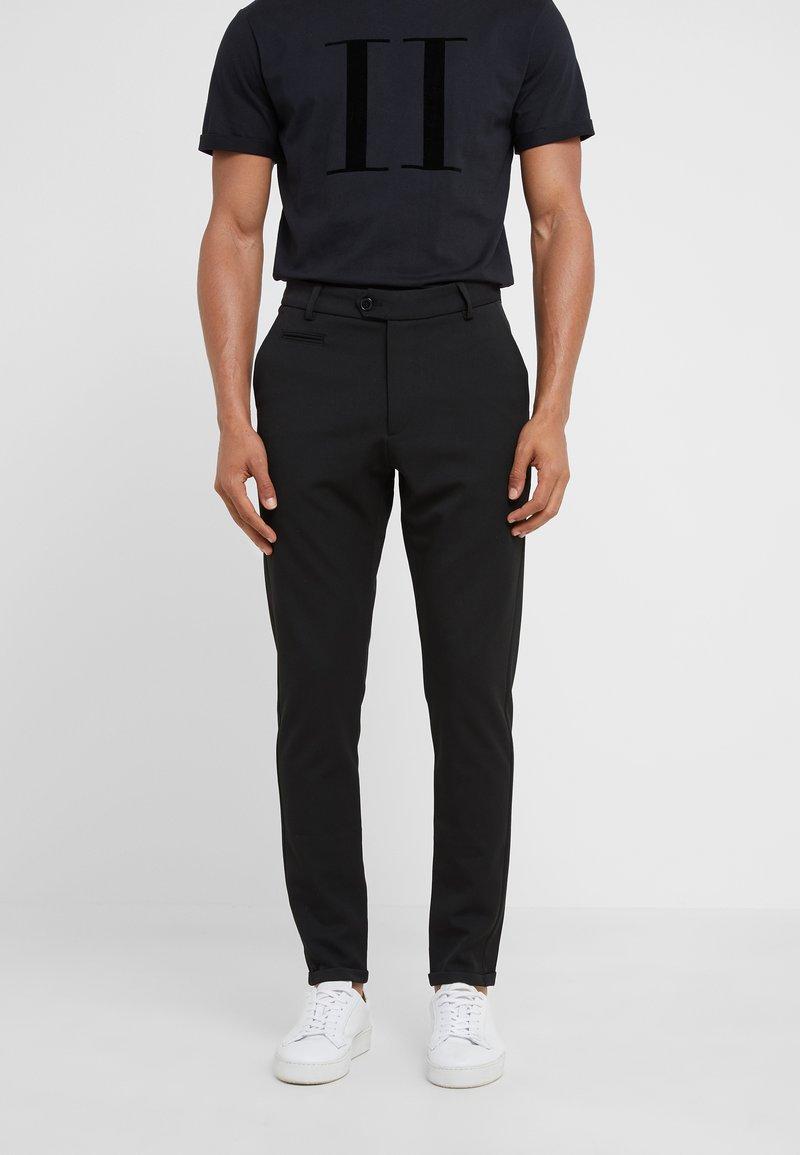 Les Deux - SUIT PANTS COMO - Pantalon classique - black