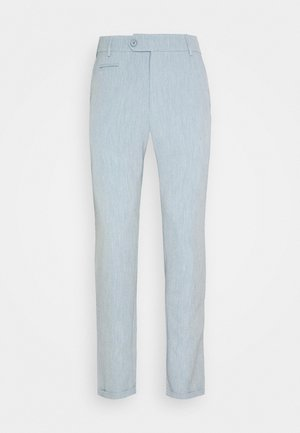COMO LIGHT SUIT PANTS - Kalhoty - provincial blue/grey melange