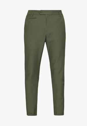 COMO LIGHT SUIT PANTS - Kalhoty - dark green