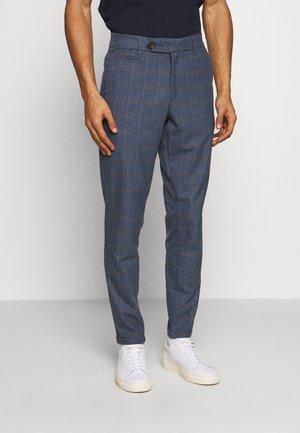 COMO MULTI CHECK SUIT PANTS - Pantalon classique - provincial blue