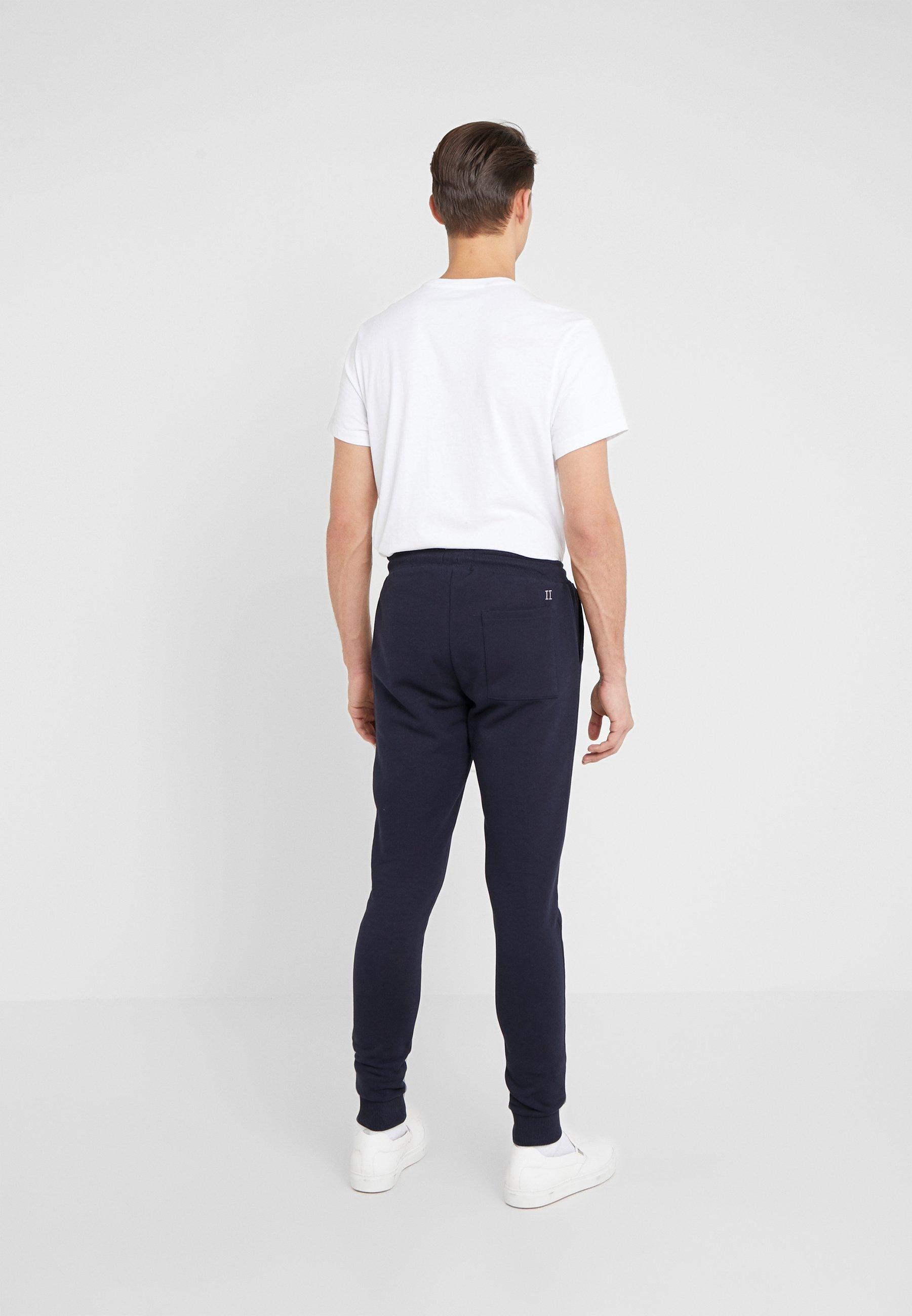 Les Deux Spodnie treningowe - navy/lavender