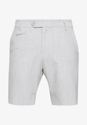 COMO LIGHT PINSTRIPE - Shorts - grey melange/off white