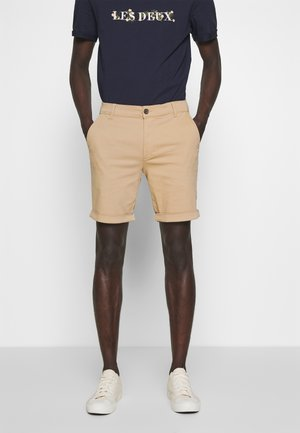 PASCAL - Shorts - light brown insence