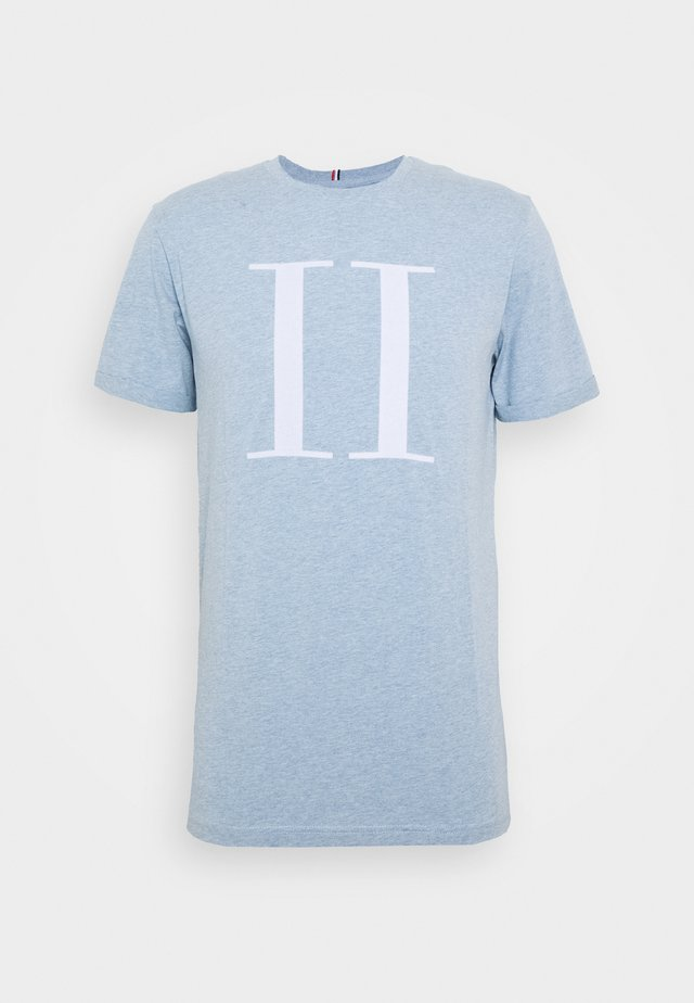 ENCORE  - T-shirts med print - light blue melange