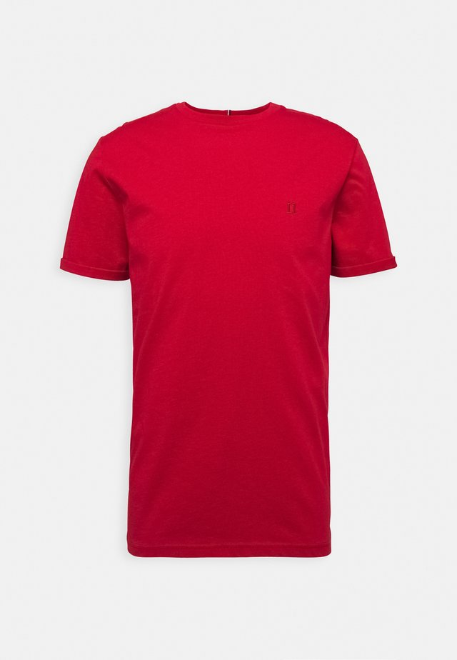 NØRREGAARD - T-Shirt basic - red orange