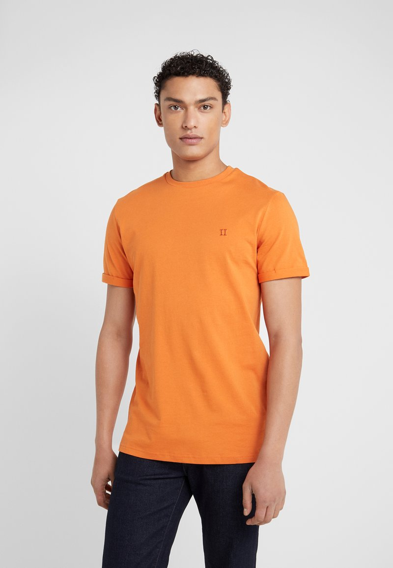 Les Deux - NORREGARD - Basic T-shirt - burnt orange