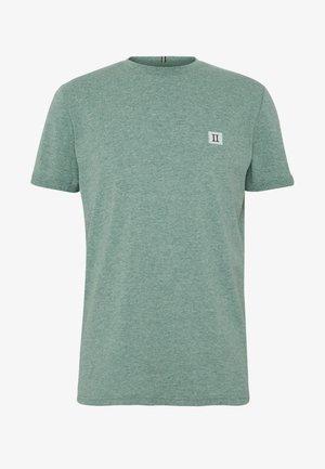 PIECE - Basic T-shirt - petrol / off white