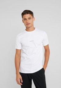 Les Deux - LENS - T-Shirt basic - white/black - 0