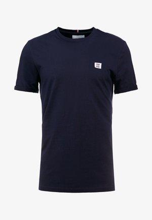 PIECE - Basic T-shirt - dark navy / lavender