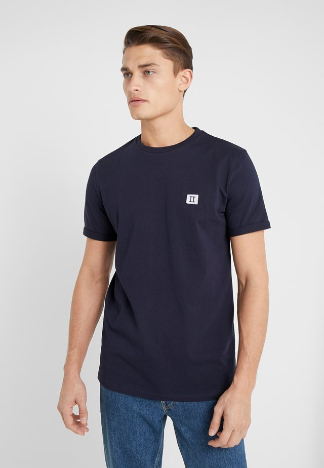 PIECE - T-shirts basic - dark navy / lavender
