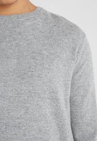 Les Deux - Strickpullover - light grey melange - 5