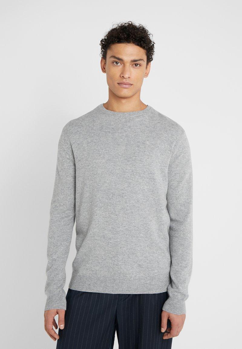 Les Deux - Strickpullover - light grey melange