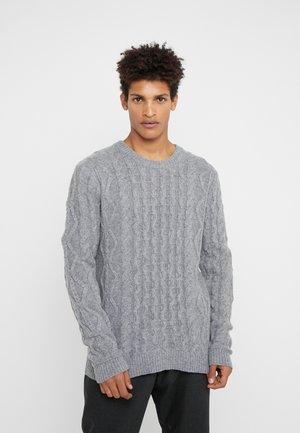 PIGALLE CABLE  - Stickad tröja - light grey melange