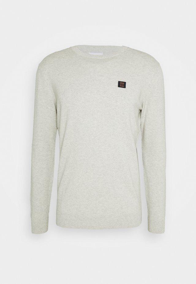 ETIENNE CASHTON - Sweter - light grey melange