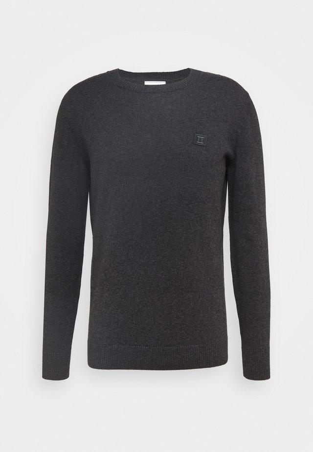 ETIENNE CASHTON - Sweter - charcoal/blue fog