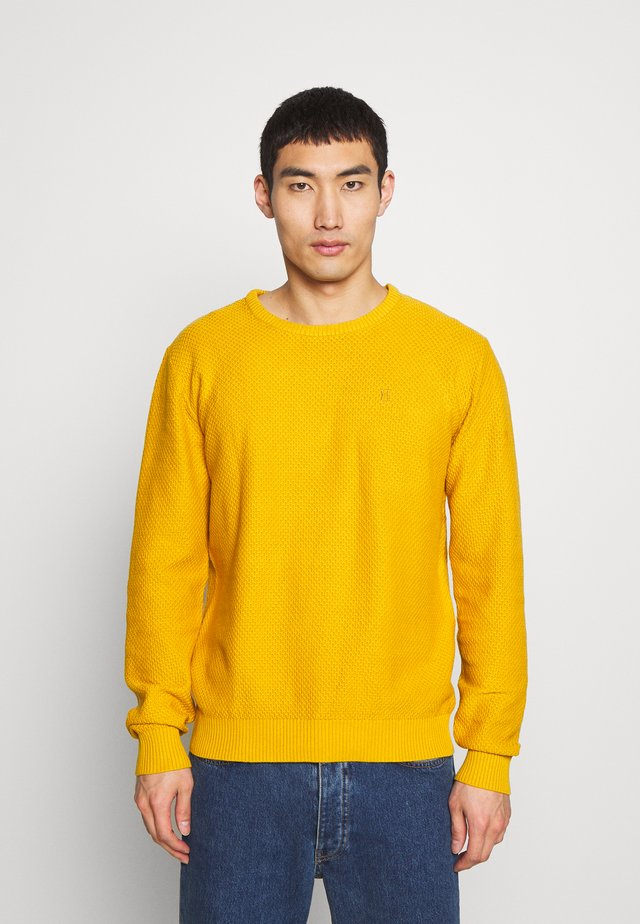 HENRI STRUCTURE - Jumper - golden spice yellow
