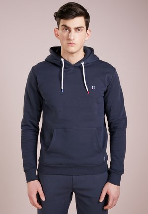 FRENCH HOODIE - Luvtröja - navy