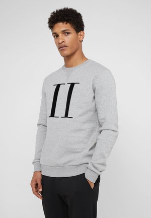 ENCORE - Sweatshirt - grey melange / black