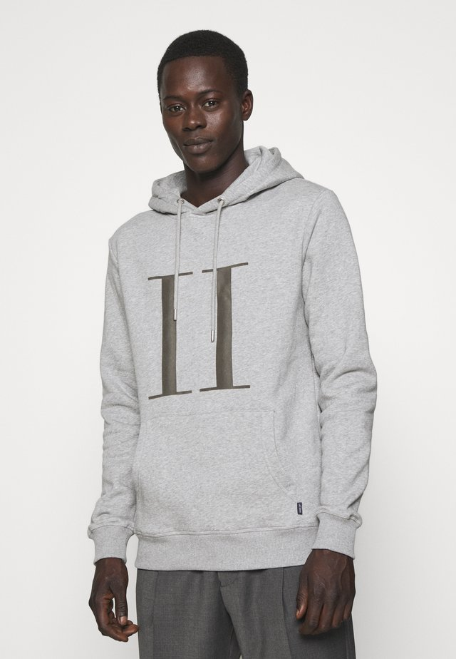 ENCORE HOODIE - Mikina s kapucí - light grey melange
