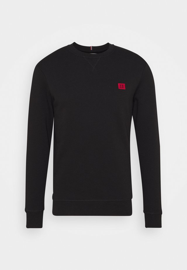 PIECE - Sweater - black/red