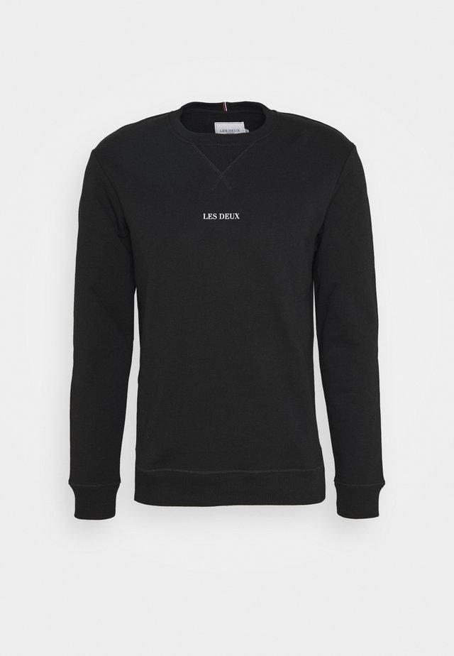 LENS - Bluza - black/white
