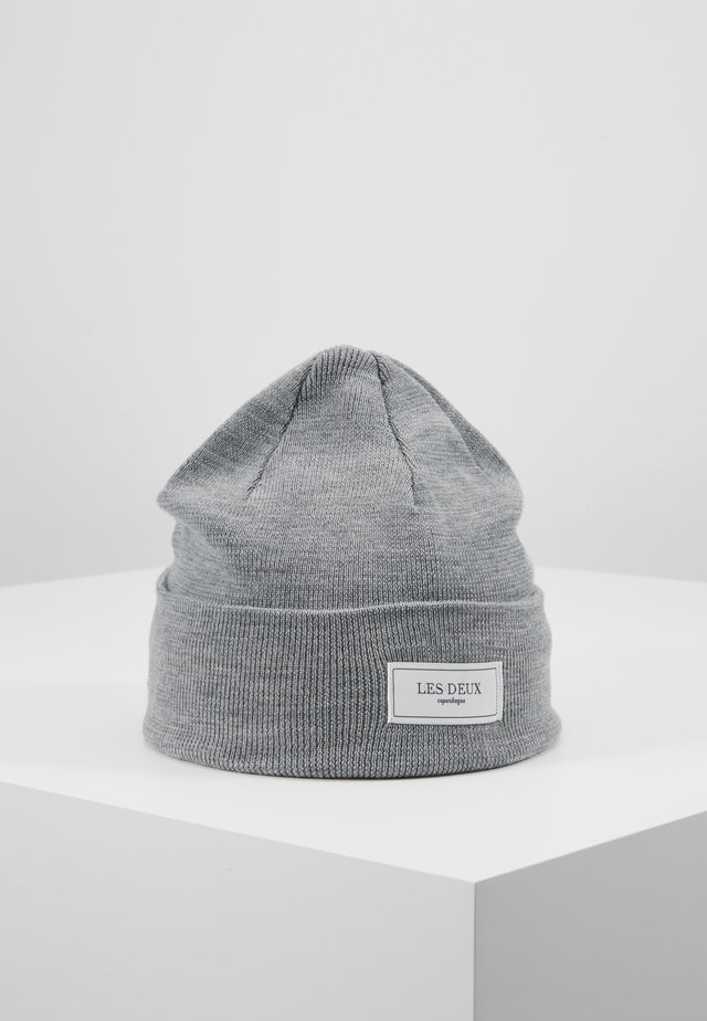 PATCH BEANIE - Pipo - light grey