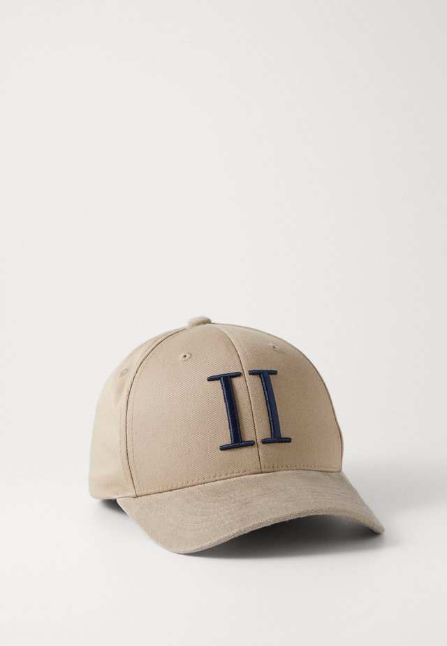 BASEBALL CAP - Kšiltovka - grey sand/dark navy