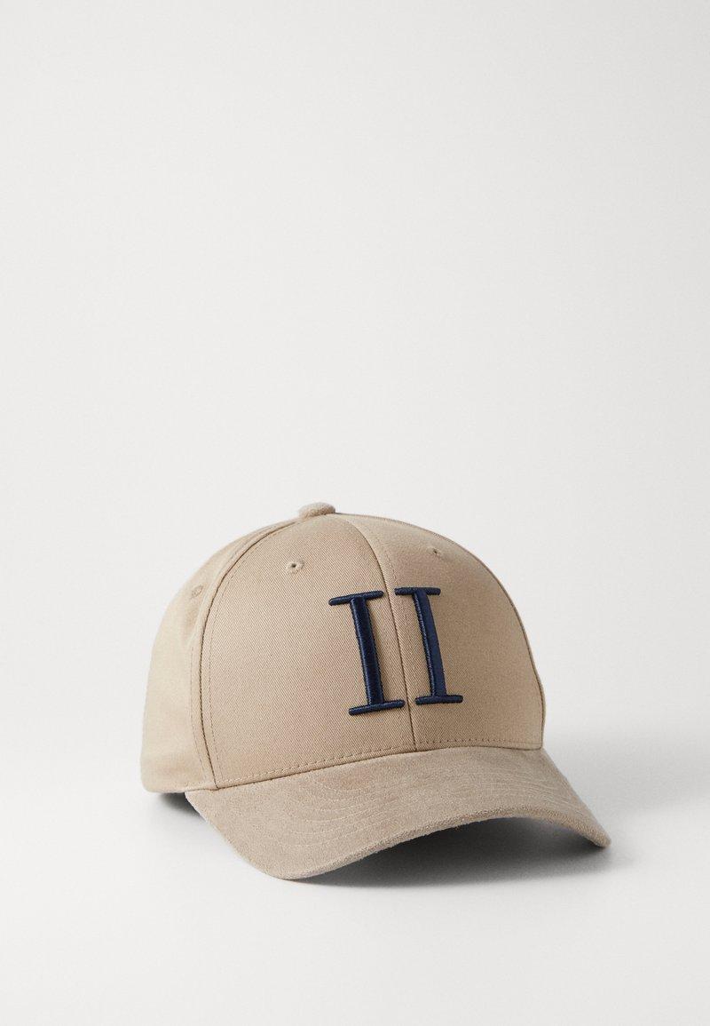 Les Deux - BASEBALL CAP - Cap - grey sand/dark navy