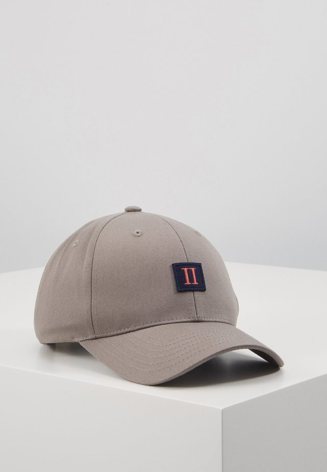 PIECE BASEBALL - Kšiltovka - grey/dark navy
