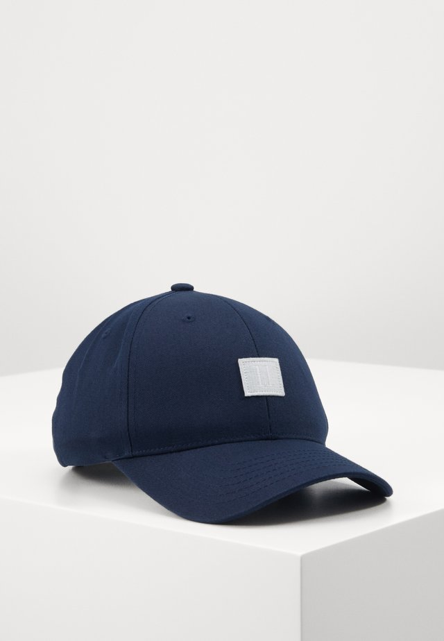 PIECE BASEBALL - Casquette - dark navy/light blue