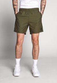 Le Fix - PATCH - Shorts - army - 0